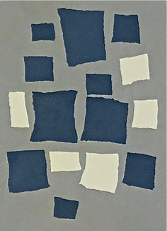 "Jean (Hans) Arp.  Accounts by several Dadaists describe how Arp made ""chance collages"" such as this one: by tearing paper into pieces, dropping them onto a larger sheet, and pasting each scrap wherever it happened to fall. The relatively ordered appearance of Arp's collages suggests, however, that the artist did not fully relinquish artistic control. Skeptical of reason in the wake of World War I, Arp and other Dadaists turned to chance as an antidote."