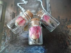 I have so many little bottles, what about a mini acorn in it, better get looking for them!!
