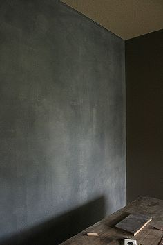 Love this!! ♥ the color Greige. Tempted toward some greige distressed walls.