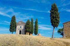 Vitaleto Chapel in San Quirico d'Orcia, Tuscany.