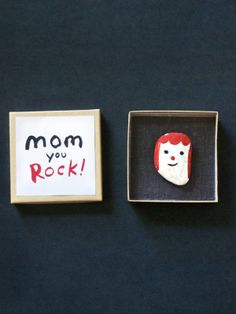 Make a Rock Portrait for Mother's Day!