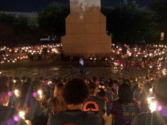 Abilene Christian University, Candelight Devo 2012