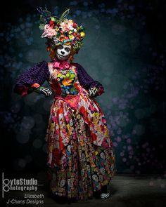 Dia de los Muertos Fiesta de Carnaval costume dress