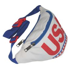 USA Fanny Pack American Fanny Pack Red White and Blue Fanny Pack