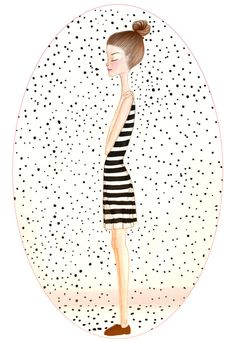 dots Art Print by Renia Metallinou