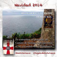 Es algo más. Es convertirse en peregrino del Camino de Santiago. http://www.instagram.com/MatildeAsensi #RegalaMatildeAsensi
