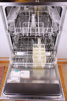 How To Clean & Deodorize The Dishwasher