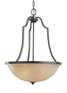 65521-845,Three Light Pendant,Flemish Bronze