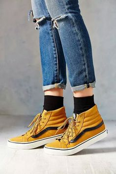 vans, jeans, and style resmi