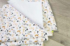Lot de 4 essuie-touts lavables et réutilisables motif arc en ciel Creation Couture, Floral Tie, Creations, Pattern, Gifts, Products