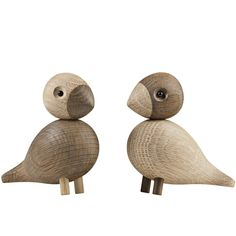 Wooden birds were designed by Kaj Bojesen in the 1950s but were never put into production at the time. Now these wonderful personalities can find friends among design lovers all over the world.