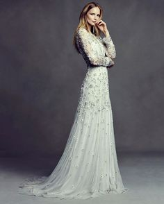 The elegant Boho Forever capsule collection from BHLDN is filled with beautiful gowns perfect for a summer wedding. | WedLuxe Magazine | #wedding #luxury #weddinginspiration