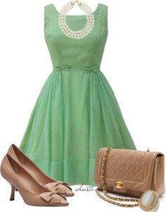 Green..a bridesmaid dress color     #dawninvitescontest
