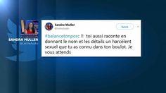 """La parole des femmes victimes d'agressions sexuelles se libère sur Twitter. Depuis l'explosion de l'affaire Weinstein, des centaines de femmes dénoncent leurs agresseurs sur les réseaux sociaux avec le hashtag #balancetonporc, qui est devenu l'un des plus utilisés en vingt-quatre heures. C'est une journaliste, Sandra Muller, qui a lancé l'appel, dénonçant elle-même le harcèlement d'un ancien patron, en donnant son nom, ce que la quasi-totalité des autres témoignages ne font pas.    """" Tu as…"""