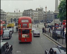 A sightseeing tour by car. Travel London's streets as they were in 1970: http://www.britishpathe.com/video/traffic-and-buses-of-london