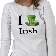 #cute #stpatricksday #tshirt see all St Pattys day gifts here  http://www.zazzle.com/blessedme*/products/cg-196220555606721769