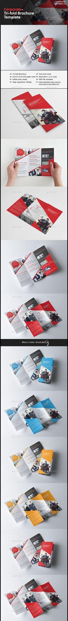Tri fold Multipurpose Brochure Template #design Download: http://graphicriver.net/item/tri-fold-multipurpose-brochure/13124577?ref=ksioks