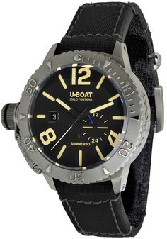 f6ade2767ba U-Boat 9007 Sommerso Diver 45mm Automatic Black
