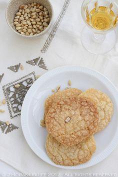 Orange & pine nut cookies #recipe