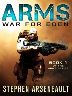 ARMS War for Eden #Free #Kindle #superhero