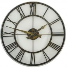 Pre-Aged Outdoor Wall Clock 50cm