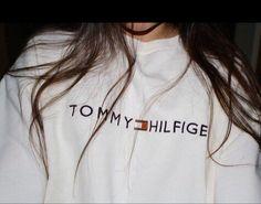 Tommy Hilfiger White Vintage Crewneck - Freshtops Marketplace