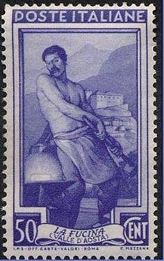 francobolli italia 1950 - Buscar con Google