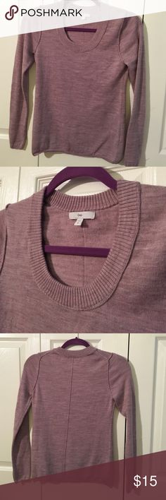 Gap Purple Sweater Fits on the smaller size, normally I wear a size medium and it's a little tighter - size M - Gap - very warm and cozy! Gap Sweaters Crew & Scoop Necks