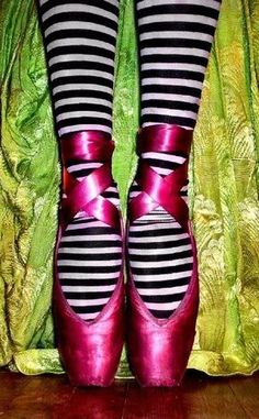 These remind me of the Wicked Witch of the West...ballet style!