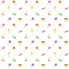 MeinLilaPark – DIY printables and downloads: Free digital birthday scrapbooking paper : sweets ...