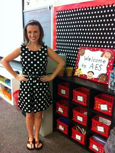 Cute polka dot DIY boards for the classroom-instead of black paint pink, green and blue! Kindergarten Cupcake Crumbs