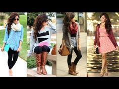 FALL OUTFITS! ♡ Fall Fashion - ThatsHeart - YouTube