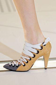 Very chic shoes from Balenciaga Fall 2012 runway