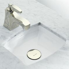 Kallista: Original by Barbara Barry For Her Undercounter Basin: P72026-00