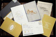 Wedding invitations.