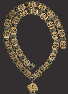 Austria, Golden Fleece Order, collar with 56 links, probably Firma Rothe & Neffe, Vienna, for collectors or museum's purpose, after 1918. 01