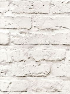 splendour galerie wallpaper - A realistic off-white brick effect wallpaper #homedecor #brick #wallpaper