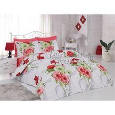 Ortum Demet rosu - lenjerie de pat din bumbac ranforce - bumbac de calitate foarte buna - tesatura ranforce (oferta un raport calitate pret foarte bun) - model floral http://www.asternuturisiprosoape.ro/ortum-demet-rosu-lenjerie-de-pat-din-bumbac-ranforce.html  #lenjeriidepat #lenjeriidepatbumbac