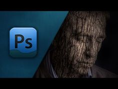 Video: Adobe Photoshop CS6 Tutorial [Creating A Bark Face!] FPST