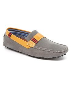Another great find on #zulily! Gray Doory Moccasin by Giraldi #zulilyfinds