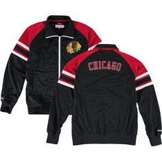 Chicago Blackhawks Trade Deadline Track Jacket by Mitchell & Ness | SportsWorldChicago.com  #ChicagoBlackhawks