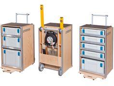 Montagetische Einemann | Mobile Products | Workshop & Assembly Trolley