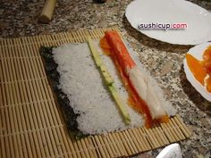 Sushi Recipes: DIY Sushi: How to make Maki Sushi Roll