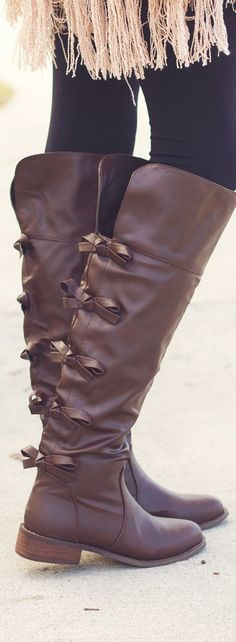 Bow Boots <3 LOVE!