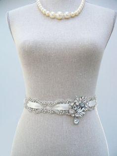 Win a Bridal Dress Sash! (sash by SparkleSM) http://emmalinebride.com/2012-giveaway/bridal-dress-sash-giveaway/#
