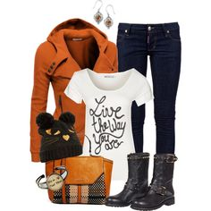 """Live"" by hollyhalverson on Polyvore"