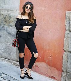 college daily-looks-comfy bianca-brandolini-daily-look