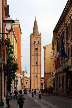 Forlì - Abbazia di San Mercuriale, campanile del 1178-80 San Francisco Ferry, Building, Travel, Viajes, Buildings, Destinations, Traveling, Trips, Construction