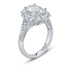 VannaK.com  Diamonds: Round 1.65 CT (not including 1.0 CTcenter stone)  The Kamara Collection demands attention.  Classic and elegant, these unique diamond rings sparkle at every possible angle. If you're lucky enough to have one on your finger, be prepared for overwhelming compliments.