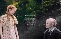 The scene is when Rudy tried to tell Liesel he was running away, but they both ended up returning home. Little did they know, this would be one of the last times they ever saw each other alive.